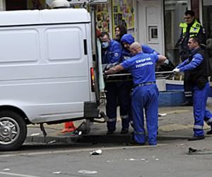 Пьяный водитель в Москве сбил трех пешеходов на «зебре», погибла беременная женщина