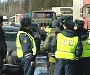 Полицейский спровоцировал ДТП на МКАД