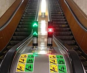 В столичной подземке появились светофоры