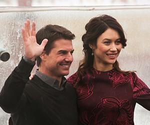 Том Круз прилетел в Москву на премьеру «Обливиона»