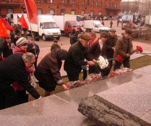 Цветы в День Рождения Ленина