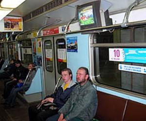 В столичной подземке появится телевидение