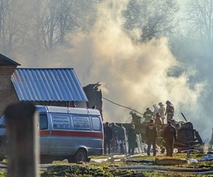 При пожаре в Подмосковной психбольнице ночью погибло 38 человек