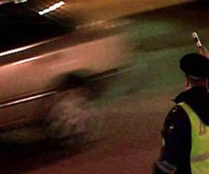 Московскими правоохранителями со стрельбой был задержан пьяный водитель-самоубийца