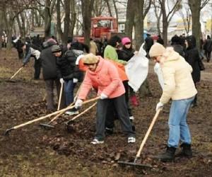 С 20 по 28 апреля в столице пройдет общегородской субботник «Чистый город»