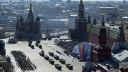 Москвичи вышли на улицы, чтобы поздравить ветеранов и увидеть парад
