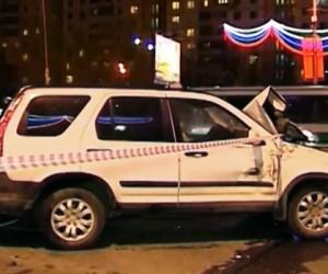 На Кутузовском проспекте столкнулись 5 автомобилей, погибли 2 человека