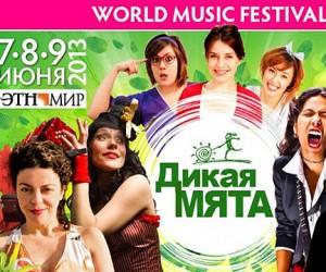 Крупнейший российский музыкальный фестиваль «Дикая Мята» будет проходить в Подмосковье с 7 по 9 июня