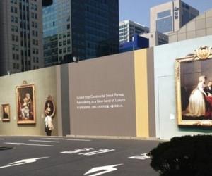 На строительных заборах города разместят репродукции картин