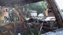 В Подмосковье обнаружен сгоревший «Мерседес» с человеческими останками в багажнике