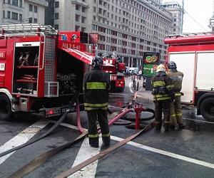 В час пик в центре Москвы в метро произошел пожар, эвакуировано более 4000 человек