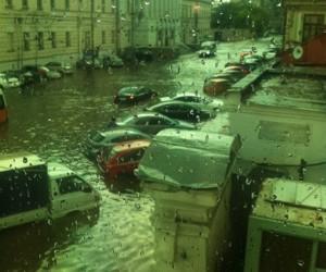 На Москву обрушилась буря