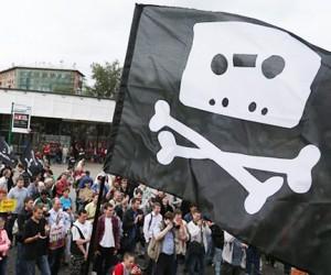 Сегодня в Москве бастовали против «антипиратского» закона