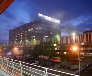 В ТТЦ «Останкино» случился пожар