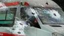 В Москве неизвестный обстрелял «скорую помощь»  с пациентом на борту