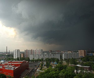 В Москве и области вновь объявлено штормовое предупреждение