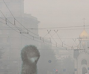 Густой туман окутал город Королёв и перепугал жителей