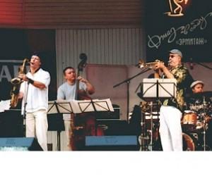 «Джаз в саду Эрмитаж» — мировая джаз элита под открытым небом