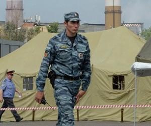 На территории Москвы ликвидировали палаточный лагерь для нелегалов