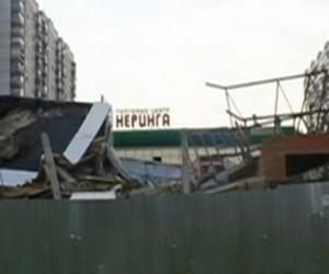 На юго-западе Москвы обрушилось здание «Пятёрочки»
