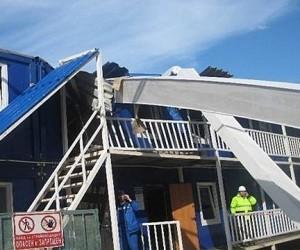 Один человек погиб, ещё пятеро пострадали при обрушении балки на столичной стройке