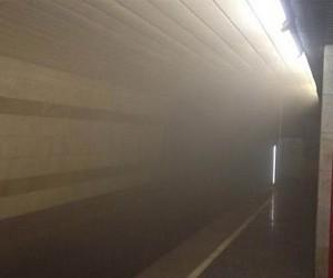 На «серой» ветке столичной подземки  загорелась кабина машиниста