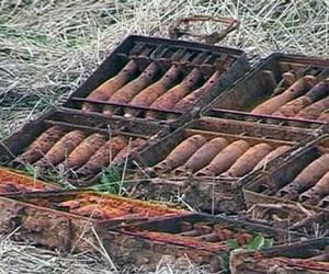 В Московской области обнаружен блиндаж немцев с арсеналом оружия