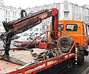 На платной эвакуации Москва заработала почти 10 млн рублей