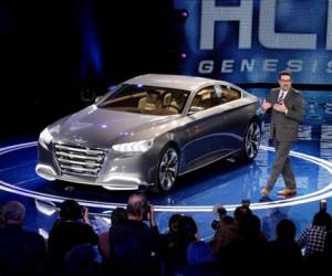 Hyundai опубликовал фото премиального седана