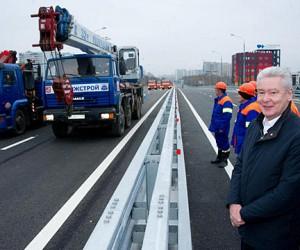 В Москве заработала новая транспортная развязка