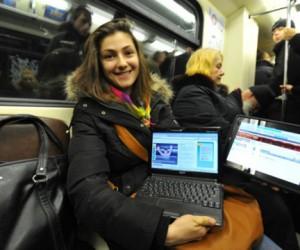 На каховской линии метро заработал WiFi