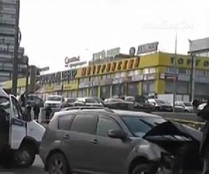 Приезжий на «Бентли» с гранатой в салоне устроил массовое ДТП в Москве