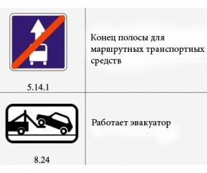 Ha улицах Москвы появятся новые дорожные знаки