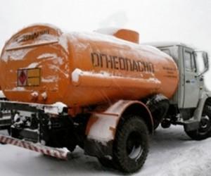 Автоцистерна сбила под Москвой пьяного пешехода