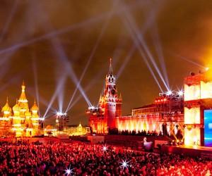 Ha Красной площади в центре Москвы разрешено проводить лишь семь мероприятий в год