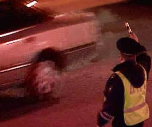 Пьяного водителя задержали в центре Москвы после погони со стрельбой