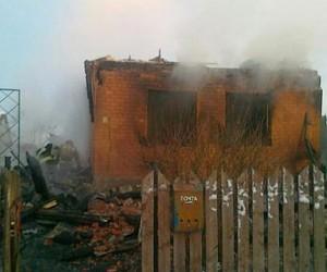На пожаре под Москвой погибла приемная семья: трое детей  и двое взрослых