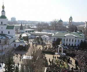Самая высокая ледяная горка в столице появится возле Данилова монастыря