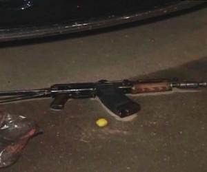 Полицейские ранили в столице ночью  мужчину с макетом автомата