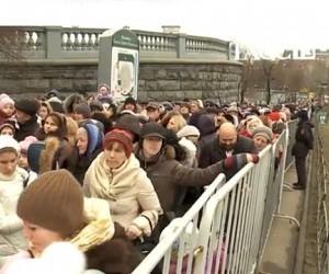 Дарам волхвов в Москве поклонились уже свыше 130 тысяч человек