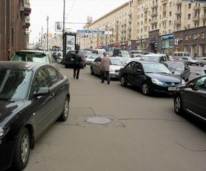 Парковочные места в столице станут на метр короче