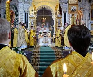 В рождественских богослужениях в столице приняли участие более 230 тыс. человек