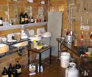 В Москве обнаружили подпольную наркотическую лабораторию