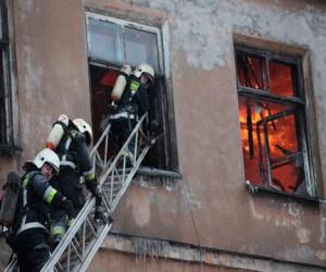 Пожар в Москве унес жизнь человека