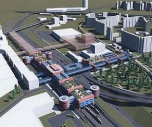 В этом году откроется первая двухъярусная станция метро