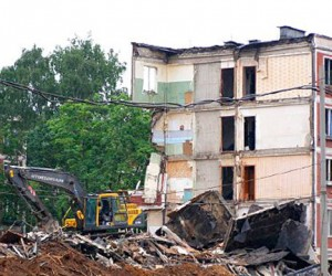 В Москве будут строить новые дома только на месте снесенных