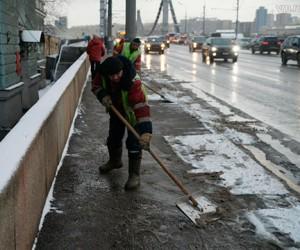 Москву отмывали все выходные