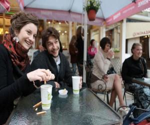 В столице стало больше летних кафе