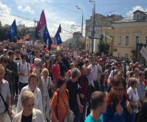 Мэрия Москвы не разрешила оппозиции провести шествие
