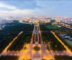 Смотровая площадка на одном из небоскребов «Москва-Сити»
